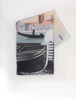 VENICE -pyyhe 50x70 cm turkoosi