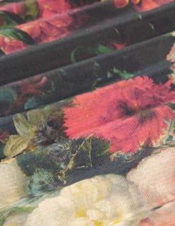 ILLALLA -pimennyskangas punainen