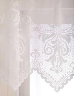 BAROKKI -kappakangas valkoinen