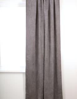 VINTAGE -verho 140x240 cm tummaharmaa