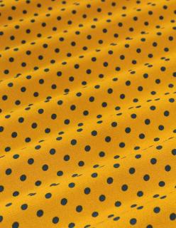 POLKA DOTS keltainen