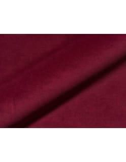 MELIA FR -sametti tummanpunainen