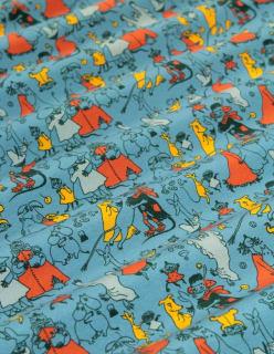 TANSSIT LAAKSOSSA -trikoo sininen