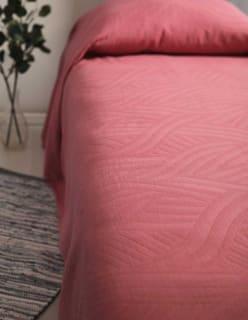PÄIVÄLLÄ -peitekangas aniliininpunainen