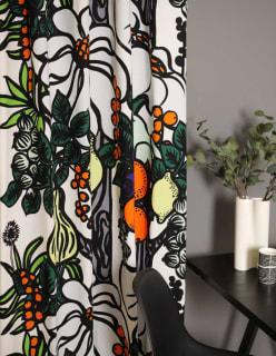 PALA TAIVASTA -puuvillakangas oranssi
