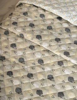 SIILIPERHE -tikki vaaleaharmaa