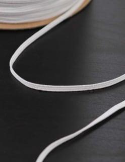 KUMINAUHA 4mm valkoinen