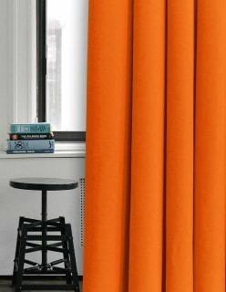 POMPEJI -sametti oranssi
