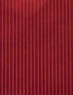 CORDUROY SMALL tummanpunainen