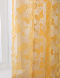 BUTTERFLY-pitsi keltainen