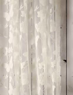 BUTTERFLY-pitsi luonnonvalkoinen