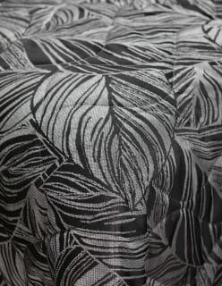 LEHVÄOKSAT -tikki musta