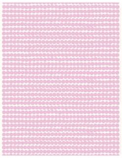 RÄSYMATTO -akryylipinnoitettu puuvillakangas vaaleanpunainen