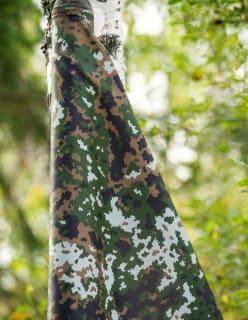 WINTER WOODLANDS M05 tummanvihreä