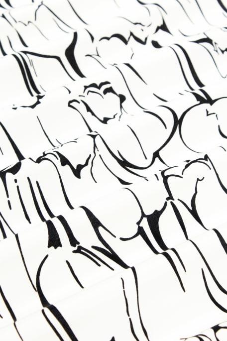 SORRENTO CREPE valkoinen