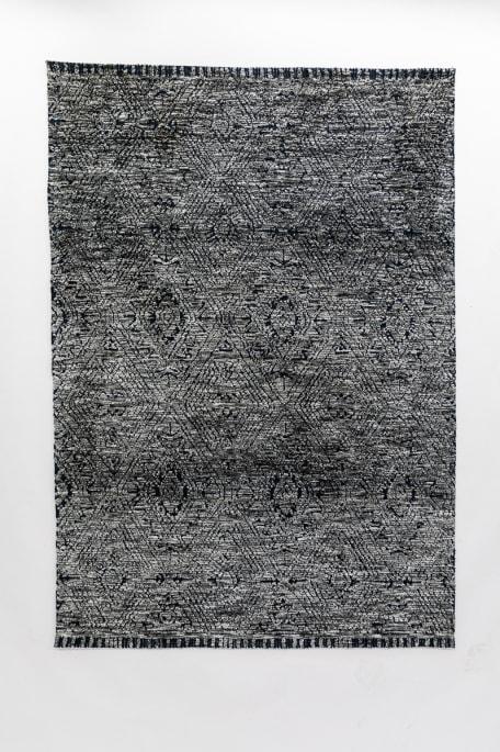 VAAKUNA -matto 140x200 cm tummansininen