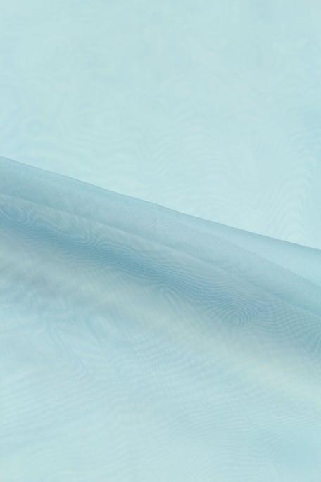 DULCINEA-silkkiorganza vaaleansininen