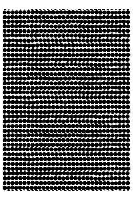 RÄSYMATTO -puuvillakangas musta