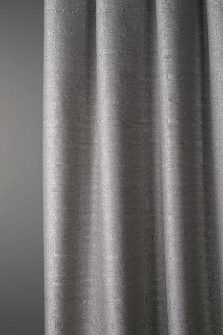 SÄVEL -akustoiva verhokangas tummaharmaa