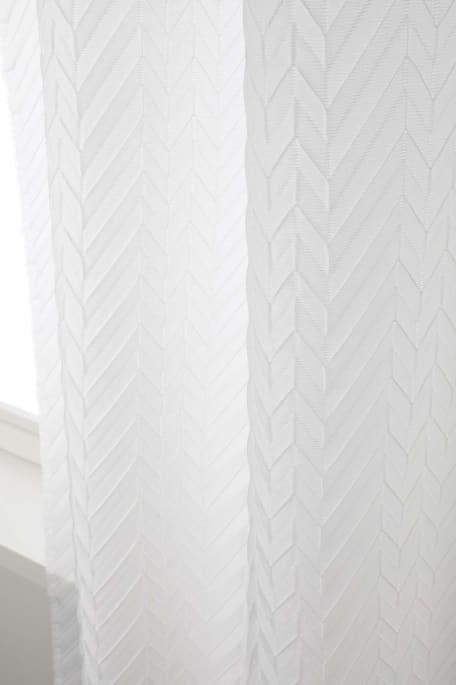 ORIGAMI -akustoiva verhokangas valkoinen