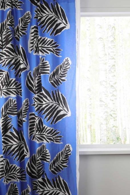 BABASSU -puuvillakangas sininen