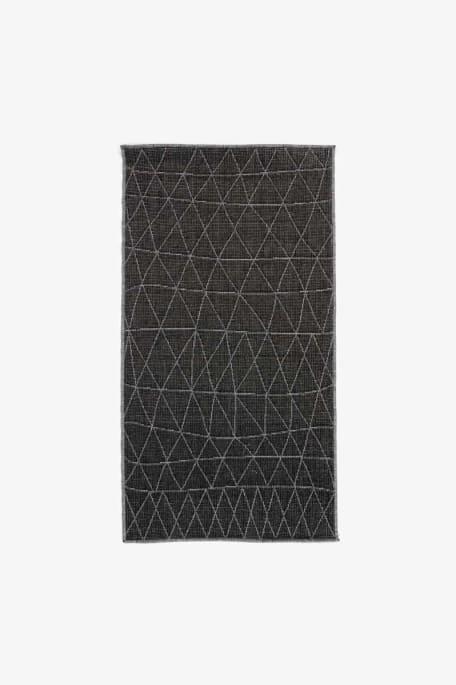 SEINÄ -kääntömatto 80x300 musta