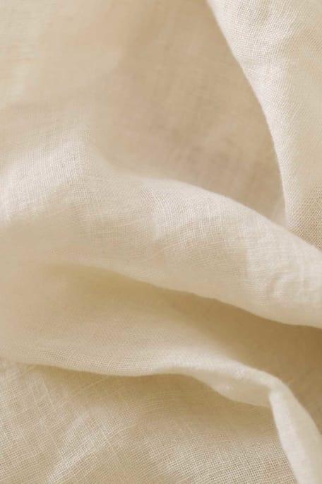 SPENCER -pellava luonnonvalkoinen