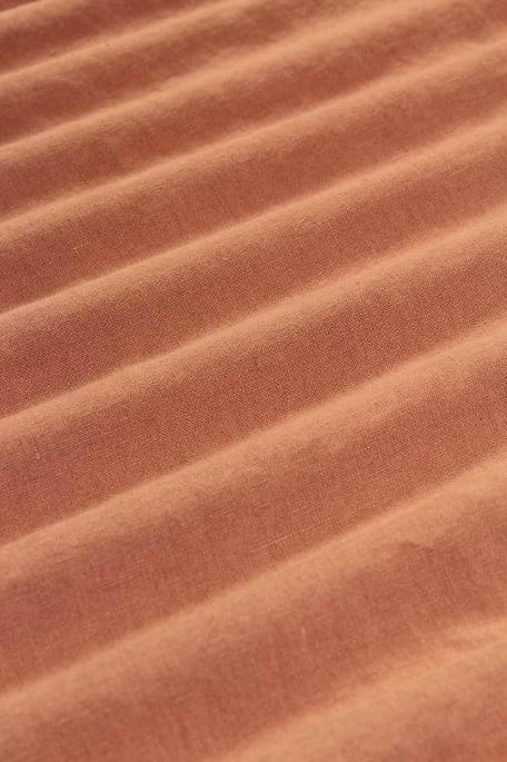 MILTON -pellava persikka