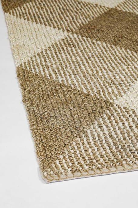 NASSAU -matto 140X200 cm luonnonvalkoinen