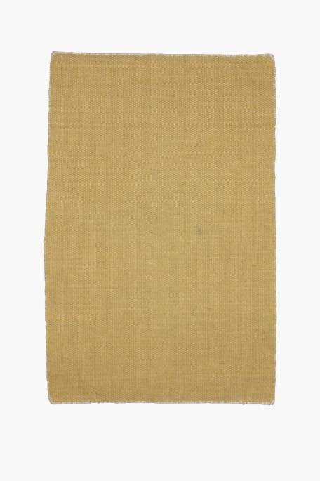 LANKKU -matto 60x90 keltainen